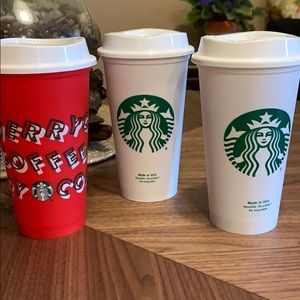 Starbucks reusable cups 16oz